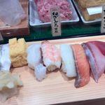 魚がし日本一 - 料理写真:かすみにぎり
