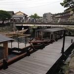 星のや 京都 - 「星のや京都」に行く送迎船