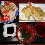 活魚村 海彦 - 玄海丼セット
