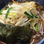上野大勝軒 甲 - もりそば+野菜