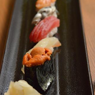 日本人なら寿司は外せない。[特]5貫寿司