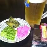 藤屋 - 2012/09/06 12:30訪問 生ビール