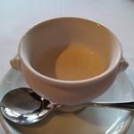 スコルピオーネ - 新玉ねぎの冷製スープ