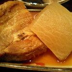 Genki-Dining 八百屋 - 八百屋御膳(1-2)豚バラと大根の煮物