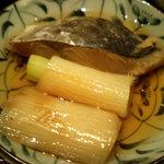 Genki-Dining 八百屋 - 八百屋御膳(1-5)鯖(?失念)とネギの煮付け