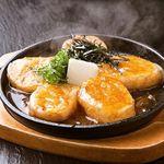 月あかり - 山芋の鉄板ステーキ
