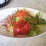 とんかつ藤よし - ミニ野菜サラダ、250円