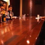 Bar K6 - カウンター席 (2015/04)