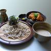 仙の坊 - 料理写真:つけとろ ミニ唐揚げ丼セット