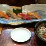 二葉鮨 - 料理写真:土瓶蒸しランチ前半戦