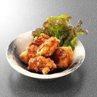 仙の坊 - 鶏の唐揚げ 自然薯包み