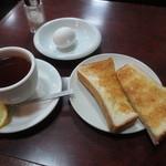 コーヒー専門店 ライオン - モーニングサービス 400円