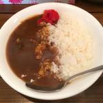 シマシマトム - ランチセットで+100円の牛スジカレー
