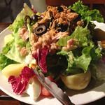 ブルチャーク - ニース風サラダ