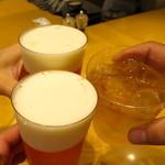 37911491 - トリビーで乾杯〜♪