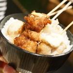 神楽食堂 串家物語 - 串揚げ丼
