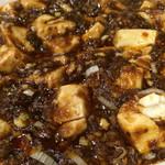 37914009 - 甜麺醤効いてる感じ 麻婆豆腐さま