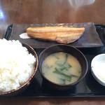 食事処 桜の木 - 縞ホッケ定食とご飯大盛