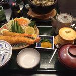うな繁 - 海老フライ定食
