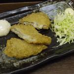 松ぼっくり - 白身魚フライ \200
