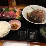地球食堂 - 鯛の煮付け定食