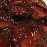 37917316 - 椎茸と青梗菜の炒め物 (アップ)