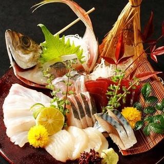 産地直送の朝獲れ鮮魚、旬と四季を感じる創作和食