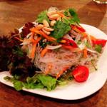 アジャム - タイ風春雨サラダ