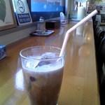 エッグチキン - アイスコーヒー アップ♪w