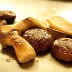3792120 - エリンギと椎茸の鉄板焼き