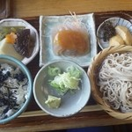 陣屋 - そば定食1400円?