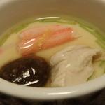鳥銀風月 - 蟹入り鶏の茶碗蒸し