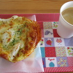 ブーランジェリー ソラハナ - サービスのコーヒーとともに!(2015,05/05)