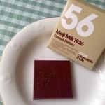 100% Chocolate Cafe. - 刻印も可愛い(♡ >ω< ♡)