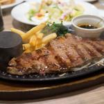 デニーズ - 料理写真:大麦牛のサーロインステーキ 160g