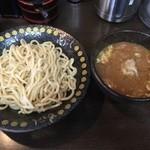 神田もといし - つけ麺(大)300g ¥800也。