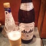 まさ爺とサスケの小さな居酒屋 - ビール