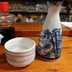 あんず - 日本酒ぬる燗
