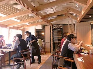銀座 圓 - ●シュミレーション▶︎【2】店内は自然光がふりそそぐテーブル席とカウンター席!