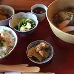 八郷の里 - 料理写真:セット