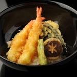 うらら - 海老と野菜の天ぷら丼