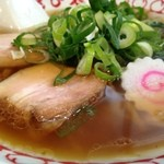 きび太郎 - 醤油らーめん あっさりのスープ