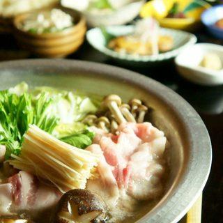 TVで取材された愛善酵素農法の生姜鍋/有機野菜たっぷり