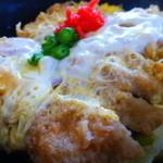 丼の芝楽 - 【H27.5.5】塩かつ丼750円。