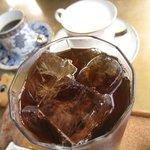 珈琲屋クレセント - ハニーコールド500円、アフリカンブレンド550円、ミルク300円