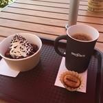 ブルックスショップアンドカフェ - 本日のコーヒーとショコラティエ