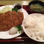 37932804 - ロースとんかつおろしポン酢定食(900円)