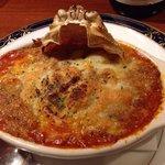 37936423 - コッペ蟹の蟹味噌たっぷりのグラタン