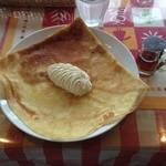 ラ・クレープリー - メープルシロップシャンティ