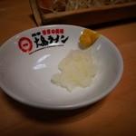 大島ラーメン - 薬味